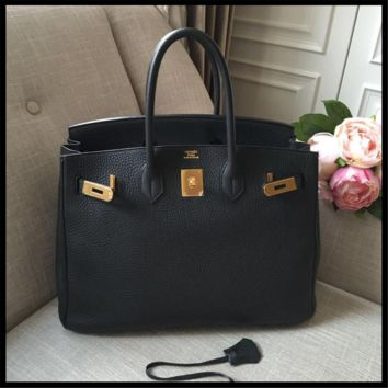 Beautiful_authentic_HERMES_Black_Birkin_Bag_Size_35_Clemency_Leather