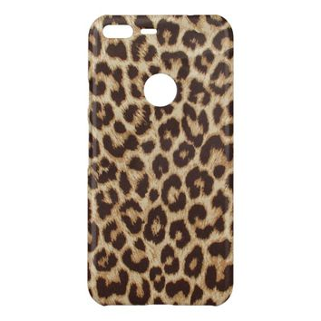 Cute Leopard Print High-Gloss Google Pixel XL Case