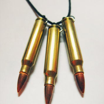 Tri-Bullet Necklace