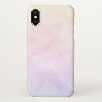 Claire Blossom luxury marble iPhone X Case