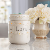 Live Love Laugh Fragrance Candle Warmer or Live Laugh Love Plug-in Warmer