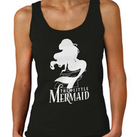 The Little Mermaid Disney Ariel Princess Tank Top Women Shirts Womens Tank Top