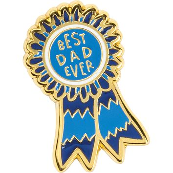 Best Dad Ever Enamel Pin