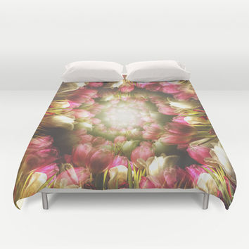 Do you love me Duvet Cover by HappyMelvin