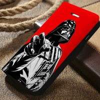 Darth Vader Star Wars Custom Wallet iPhone 4/4s 5 5s 5c 6 6plus 7 and Samsung Galaxy s3 s4 s5 s6 s7 case