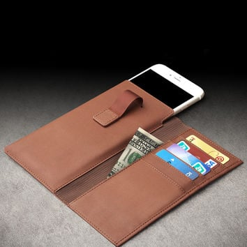 Leather Iphone 6/6 Plus Wallet
