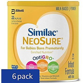 Similac NeoSure Infant Formula with Iron, For Babies