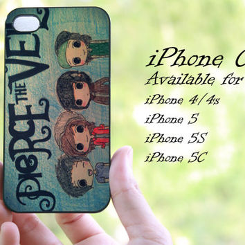 pierce the veil design 02 iphone case for iphone 4 case, iphone 4s case, iphone 5 case, iphone 5s case, iphone 5c case