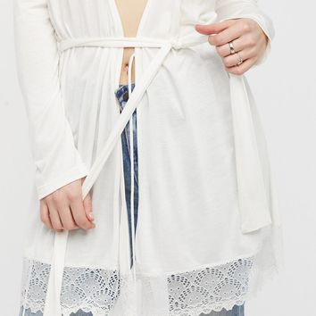 Free People Venice Lace Robe