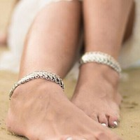 Cute Ladies Shiny Gift Stylish Sexy New Arrival Jewelry Handcrafts Vintage Hot Sale Bracelet Anklet [7271663175]