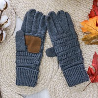 Breckenridge Smart Tip Gloves - Charcoal