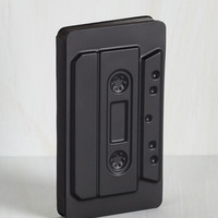 Can't Tech This Notebook in Cassette | Mod Retro Vintage Desk Accessories | ModCloth.com