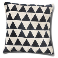 TOMS Marketplace JOYN Navy Triangle Pillow Cover