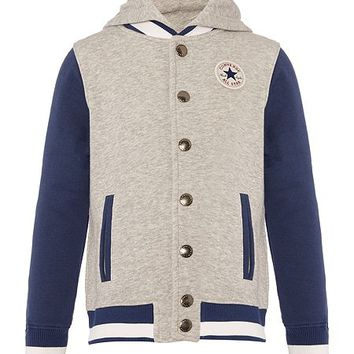 Boys Sweatshirt Baseball Jacket