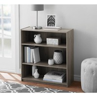 Mainstays 3-Shelf Bookcase, Multiple Colors - Walmart.com