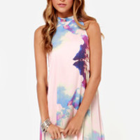Somedays Lovin' The Great Divide Pink Print Dress