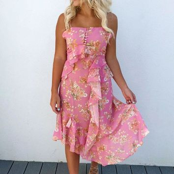 Full Blossom Dress: Multi