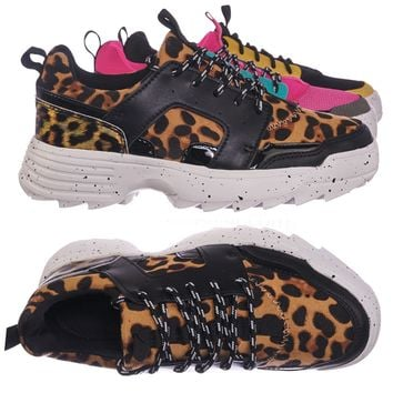 Above20 Lightweight Chunky Sneaker -Lace Up EVA Color Block Fashion Athletic