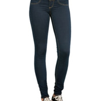 LOVEsick Dark Indigo 3-Button Super Skinny Jeggings