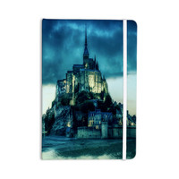 "888 Design ""Haunted Castle"" Blue Fantasy Everything Notebook"