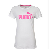 """PUMA"" Fashion Casual Letter Print Round Neck Short Sleeve T-shirt Women Shirt Top Tee"