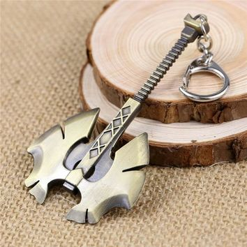 Dota 2 Battle Fury Axe Keychain