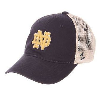 Licensed Notre Dame Fighting Irish Official NCAA University Adjustable Hat Cap by Zephyr KO_19_1