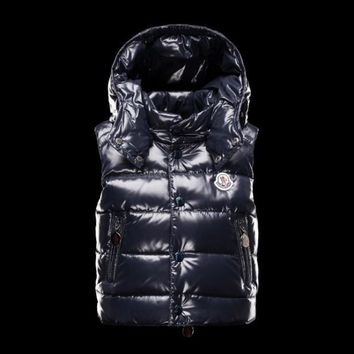 Moncler new Children's wear winter Hooded down Vest