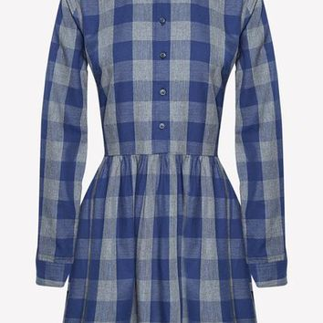 CHELWOOD CHECK DRESS