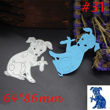Newest 1 X Animal Metal Cutting Dies Stencil DIY Scrapbooking Photo Album Decor Embossing Cards Making DIY Crafts 2017 DIY