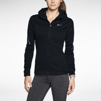 Nike Soft Shell Women's Training Hoodie - Black