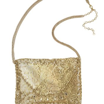 Kiss Me at Midnight Bag in Gold