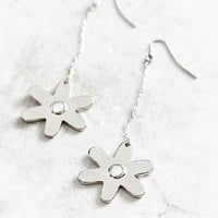 Berlin Flower Drop Earring - Urban Outfitters