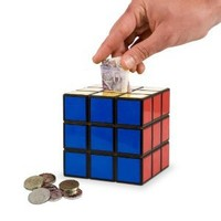 Spinning Hat Rubik's Cube Money Box