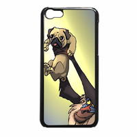 The Pug King 7234 iPhone 5c Case