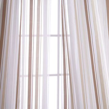 Home Silks Each 50W x 108L Devon Curtain