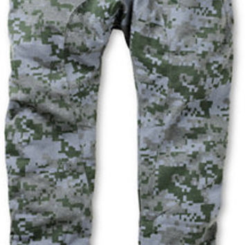 American Stitch Grey Digital Camo Jogger Sweat Pants