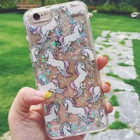 Original Shining Unicorn iPhone 7 se 5s 6 6s Plus creative case + Gift Box-108