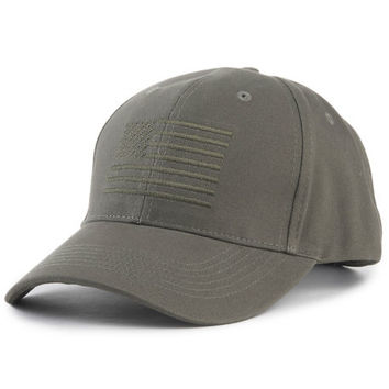 The Low Profile Dad Hat in Olive