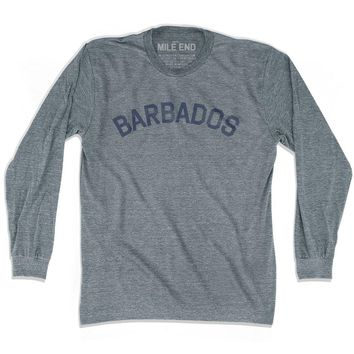 Barbados City Vintage Long Sleeve T-shirt