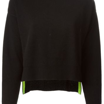 T By Alexander Wang side slit sweater