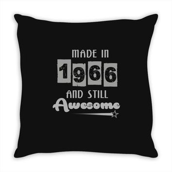 made in 1966 and still awesome Throw Pillow