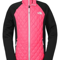 The North Face Girl's 'ThermoBall' Quilted Hybrid Jacket,