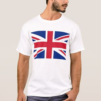 T Shirt with Flag of the United Kingdom