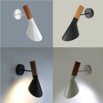 Modern Iron Lighting E27 Wall Mounted Bedside Reading Light Creative Wall Lamp Living Room Foyer Home Lighting Lampara De Pared