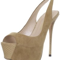 Jean-Michel Cazabat Women's Zelta Open-Toe Pump