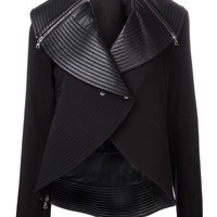 David Koma Lamb Leather Jacket - H. Lorenzo - Farfetch.com