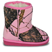 Toddlers' Mossy Oak Boots - Pink Breakup Infinity