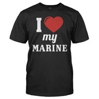 I Love My Marine - T Shirt