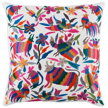 Bright Otomi Pillow